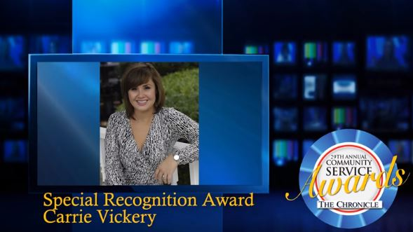 2014 - Special Recognition Video of Carrie Vickery